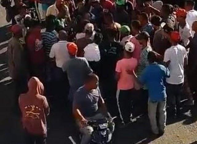 San Juan intentan linchar a supuesto atracador