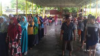 Keceriaan Kader pada Halal Bi Halal PKS Manado