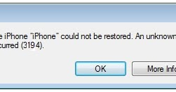 iphone could not be restored error 3194 fix itunes error 3194 when restoring updating ios keyables 5660