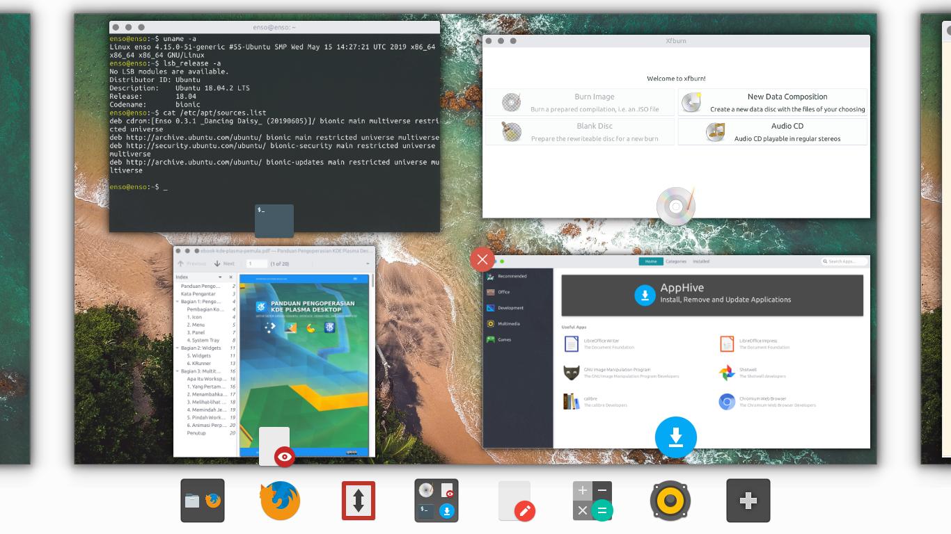 Ubuntu Buzz !: Enso OS, A Desktop Mix between Xubuntu and