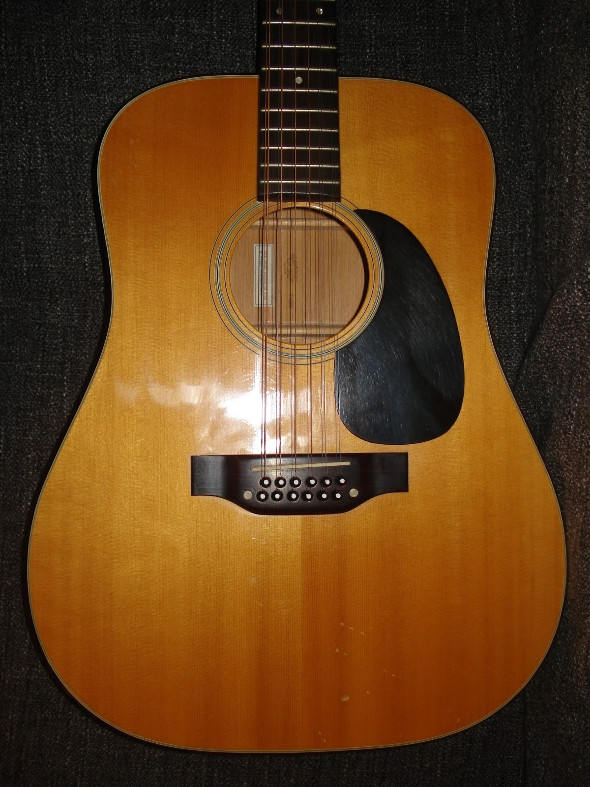 Socal Gear Museum 1978 Takamine F 385 12 String Acoustic Guitar
