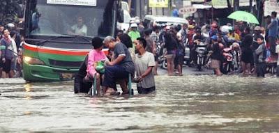 Akibat Yang Ditimbulkan Oleh Banjir dan Kekeringan