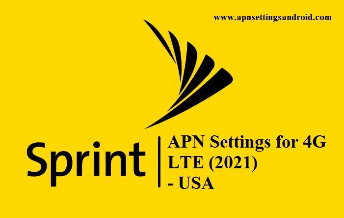 APN Settings for Sprint
