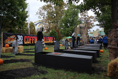 6 Flags Great Adventure Coffin Challenge