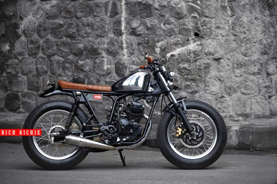 Yamaha Scorpio 225 Bobber Iron Stone Modifikasi