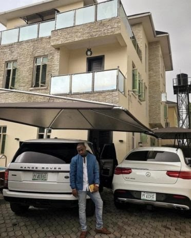 Lekki mansion belonging to Davido