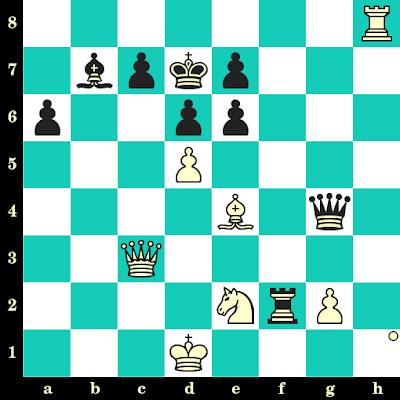 Les Blancs jouent et matent en 2 coups - Hichem Hamdouchi vs Samy Shoker, Haguenau, 2013
