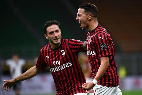 اهداف مباراة ميلان وبولونيا 1-5 فى الدورى الايطالى 18-7-2020