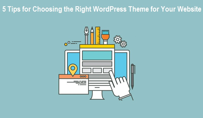 Choosing the Right WordPress Theme for Websites