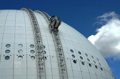 Ericsson Globe - maior edifício esférico do mundo