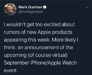 tweet Mark Gurman
