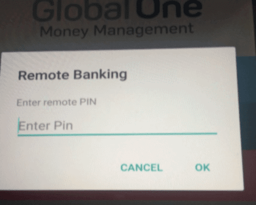 Enter PIN/Password for Capitec internet banking - iPAY - Hollywoodbets
