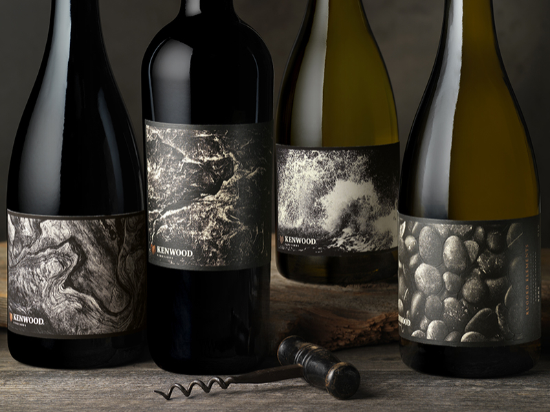 Kenwood Vineyards' Rugged Elements