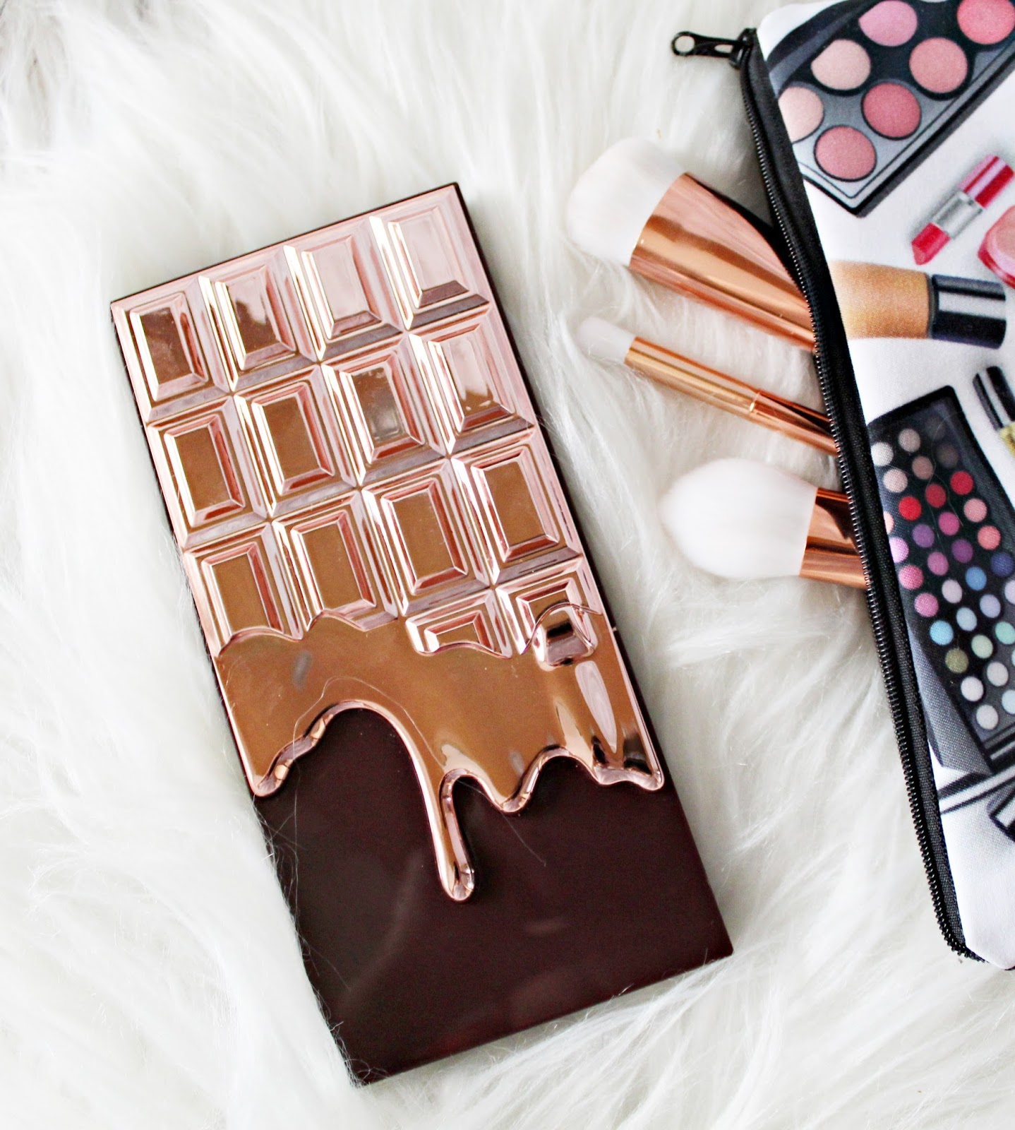 makeup revolution rose gold chocolate
