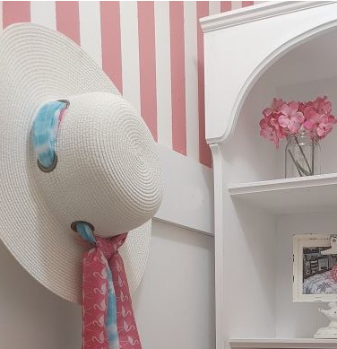 Create a Beautiful Girlie Grab and Go Closet in Your Hallway