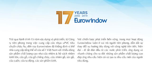 Eurowindow-17 Năm