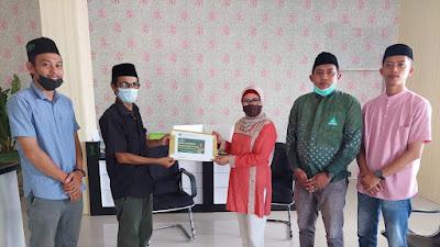 Jalin Sinergitas, Ketua Muslimat NU Terima Kunjungan Banom NU Kota Gorontalo