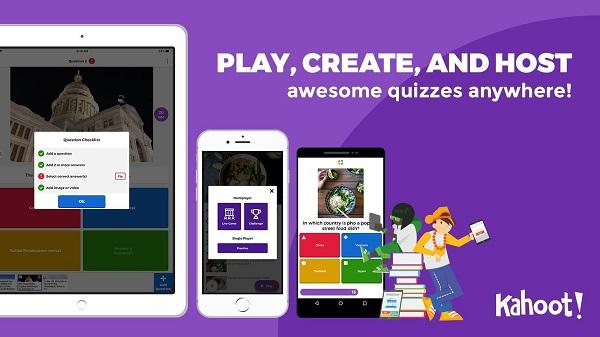 Kahoot App For Students Learning Teacher