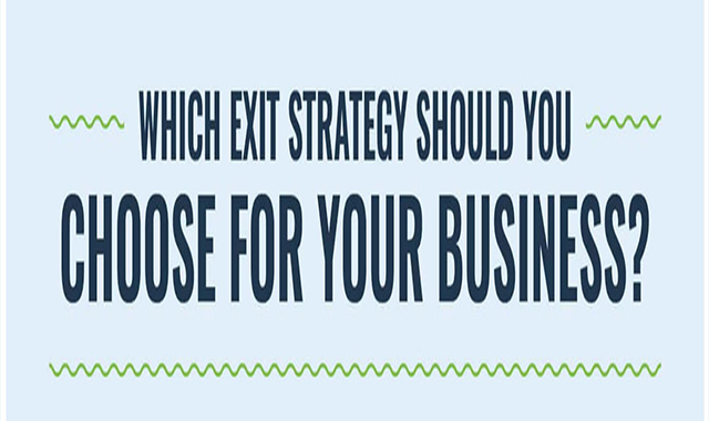 Which business exit strategy will give you the future of your dreams? #infographic