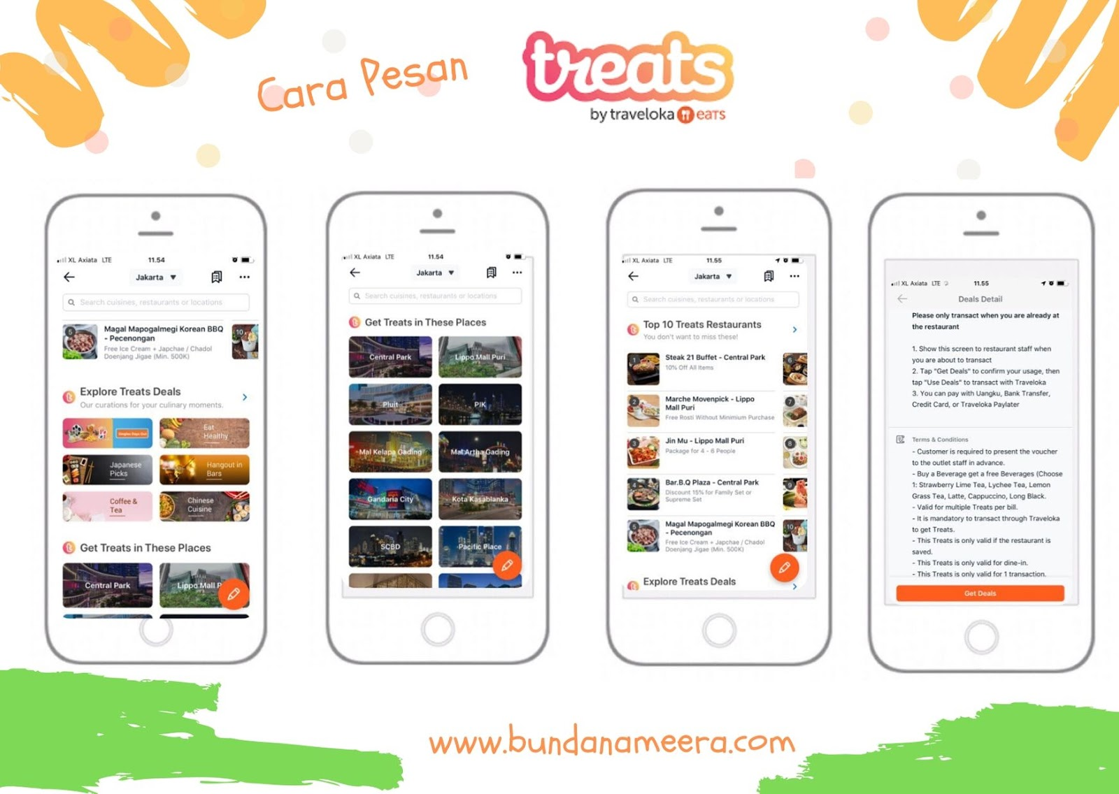 Review traveloka eats, cara menggunakan traveloka eats, cara menggunakan treats di traveloka eats