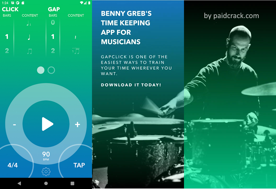 Gap Click by Benny Greb (OFFICIAL) Mod Apk 1.0 [Paid]