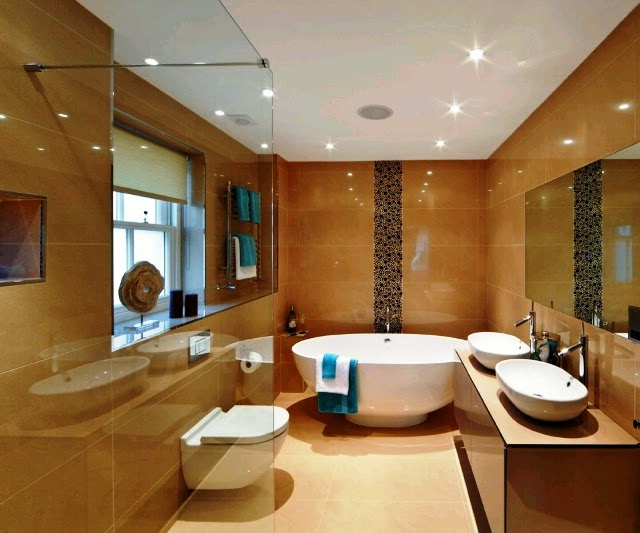 modern paint ideas for bathrooms