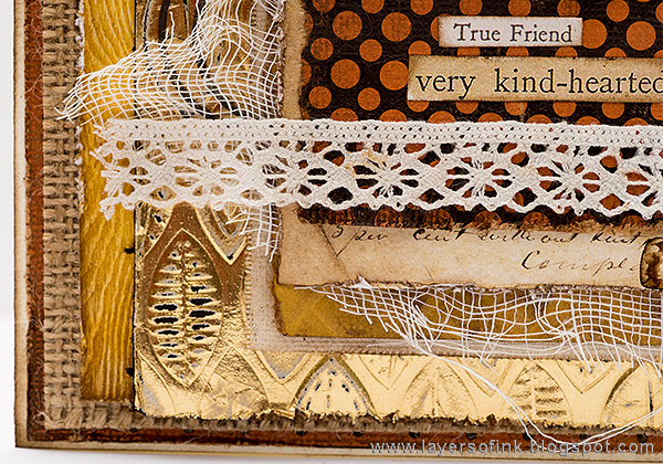 Layers of ink - True Friend Card by Anna-Karin