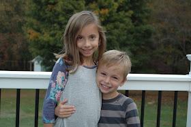 Katie's kids