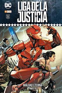 Liga de la Justicia: Coleccionable semanal tomo11