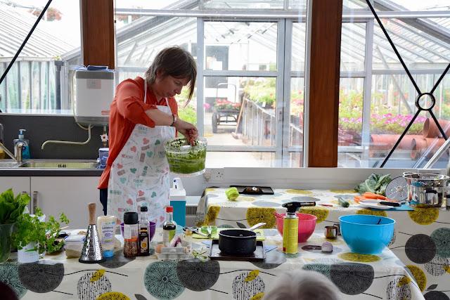 Duthie Park Winter Gardens Aberdeen Cookery Demo