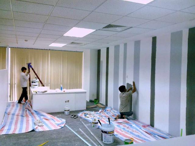 sơn sửa lại căn hộ chung cư tại quận 8