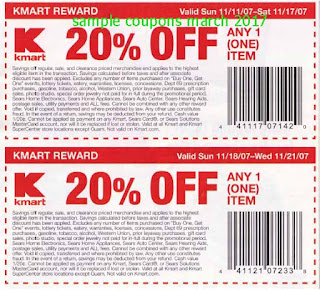Kmart coupons for march 2017