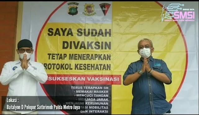 SMSI Bekasi Raya Dukung Gerakan Bekasi Berantas Pandemi (Berani) Covid-19