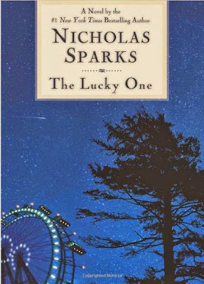 The Lucky One by Nicholas Sparks – Front book cover