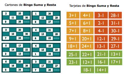 Bingo para imprimir