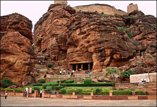 Badami Cave Temple Karnataka,India