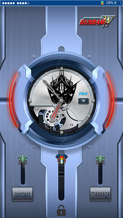 Oppo Theme: Oppo F3 Gundam Theme