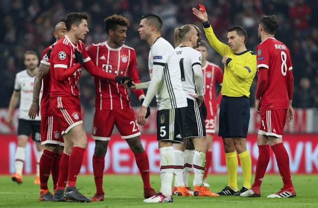 Prediksi Besiktas vs Bayern Munchen Liga Champions