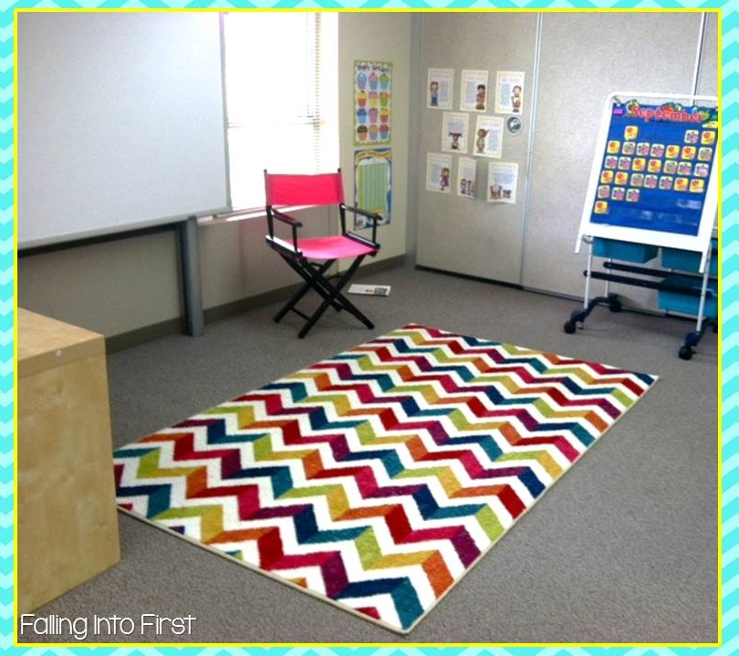 Carpets For Classrooms For Toddlers: Falling Into First: Cozy Classroom Rug Giveaway