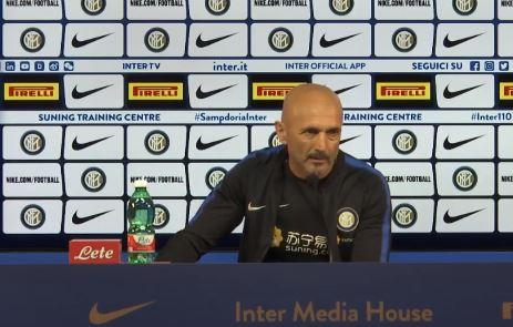 Inter Sassuolo la conferenza stampa di Spalletti
