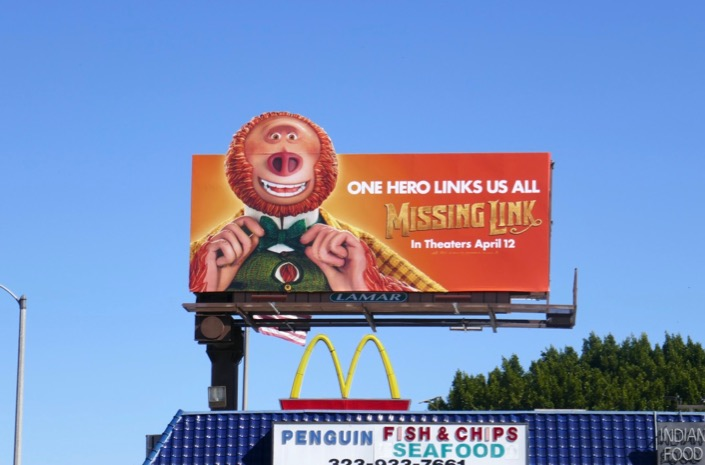 Missing Link extension billboard