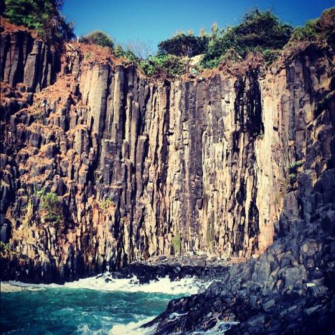 Cap Manuel, un lieu chargé d'histoires : Tourisme, Cap, Manuel, paysage, environnement, végétation, chute, cascade, montagne, roche,  île, océan, LEUKSENEGAL, Dakar, Sénégal, Afrique