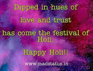 Colorful Holi Greetings, Quotes, Slogans, Facebook