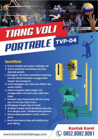 tiang voli portable tvp-04