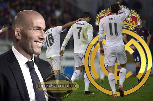 Hantaman Keras Ronaldo Tidak Membuat Zidane Marah