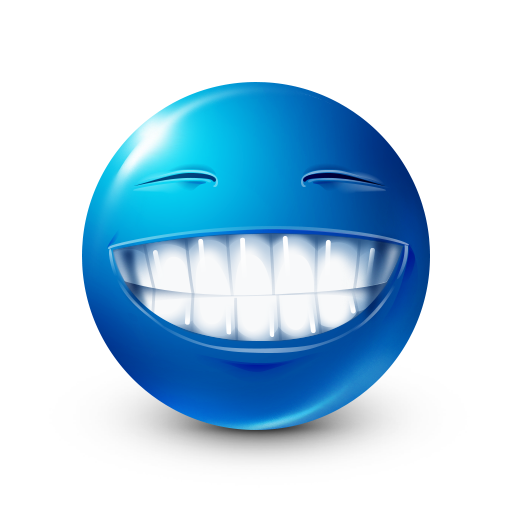 Pearly Whites Facebook Smiley