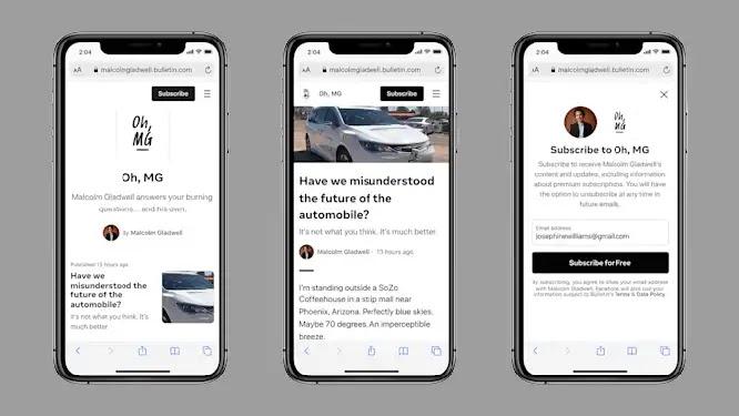 Facebook Releases its News Platform 'Bulletin'