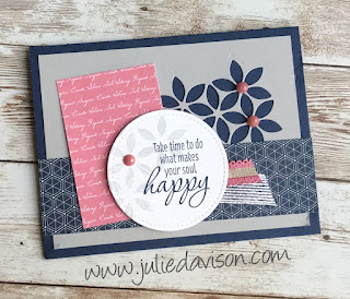 Stampin' Up! Tasteful Textures: The Dogs Ate My Card!! ~ 2019-2020 Annual Catalog ~ www.juliedavison.com