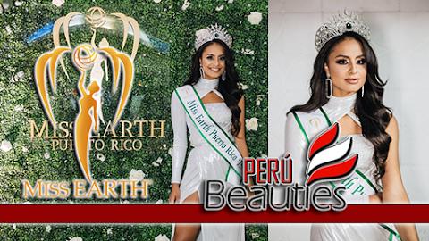 Nellys Pimentel es Miss Earth Puerto Rico 2019