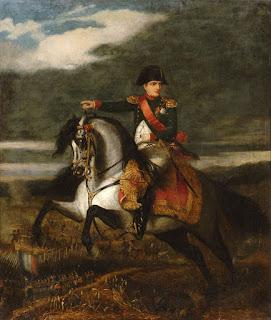 Napoleone alla battaglia di Wagram